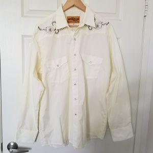 Hannover Western Cowboy Long Sleeve Shirt XXL 44